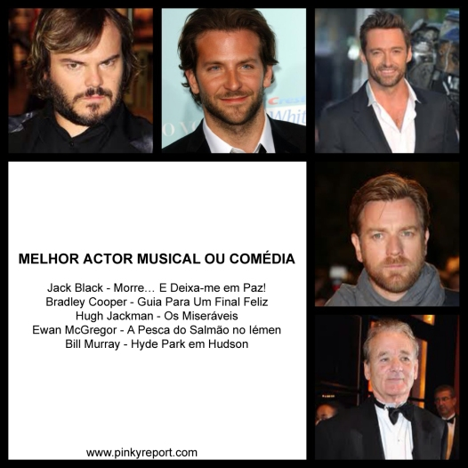5Melhor actor musical comedia