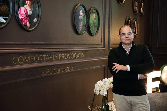 O artista João Figueiredo